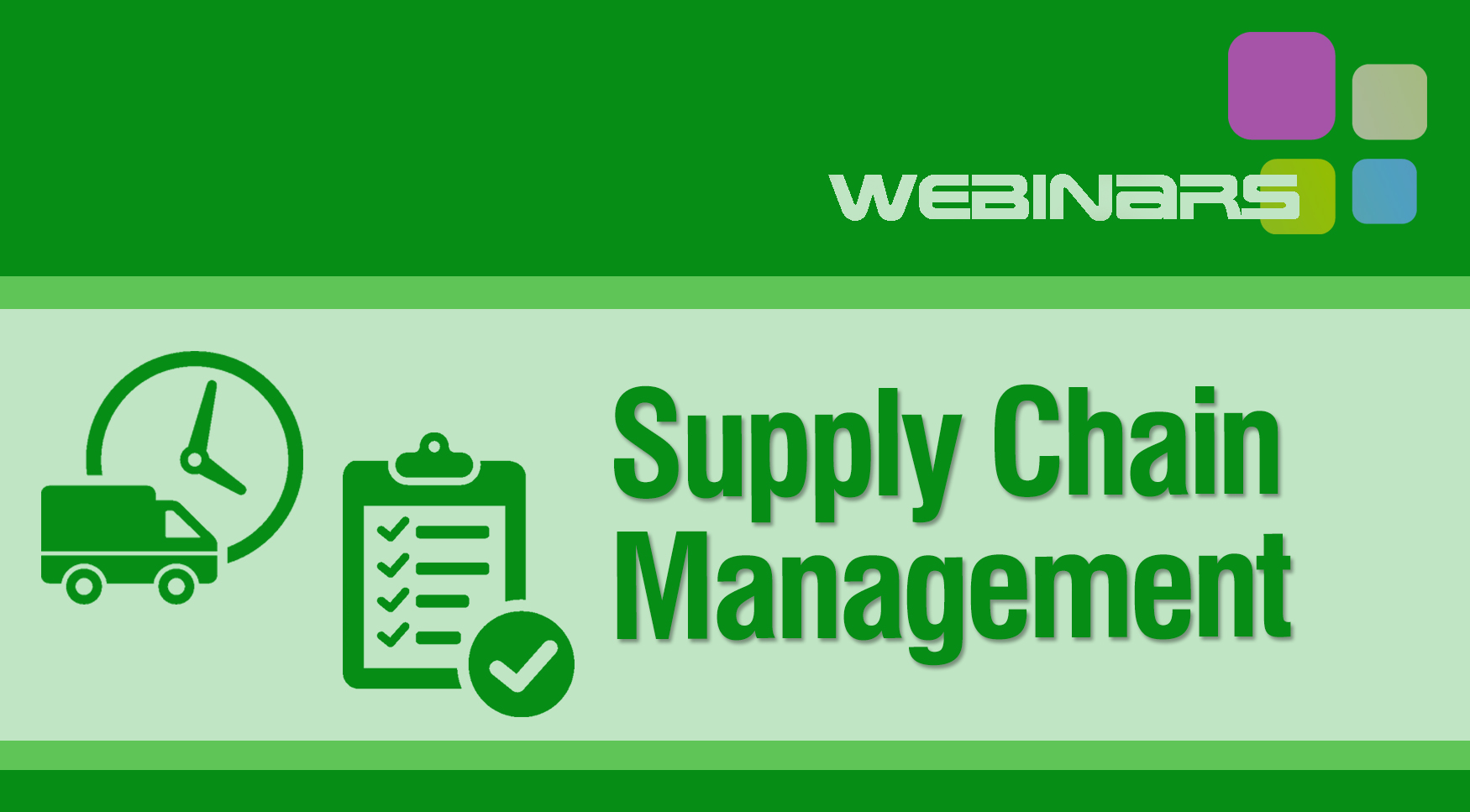 webinar supply chain