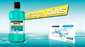 exemplo de listerine de marketing de entrada