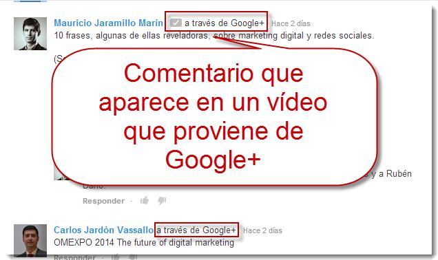 video marketing google +