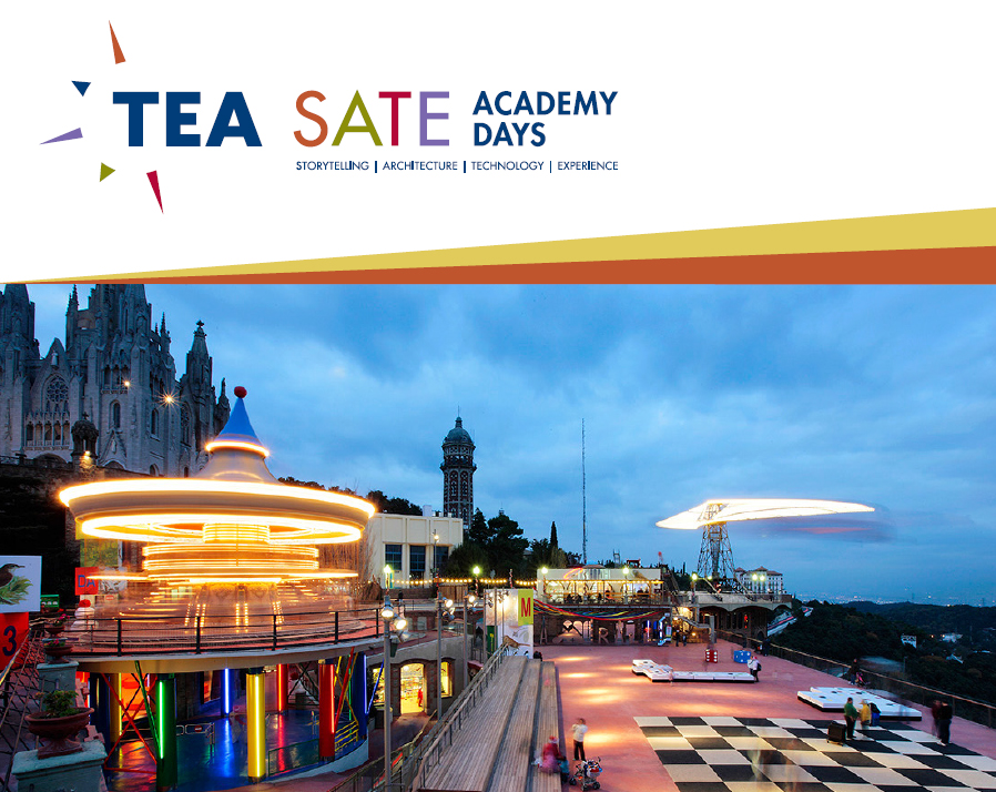 SATE Academy Days TEA Theme Entertainment Barcelona IEBS