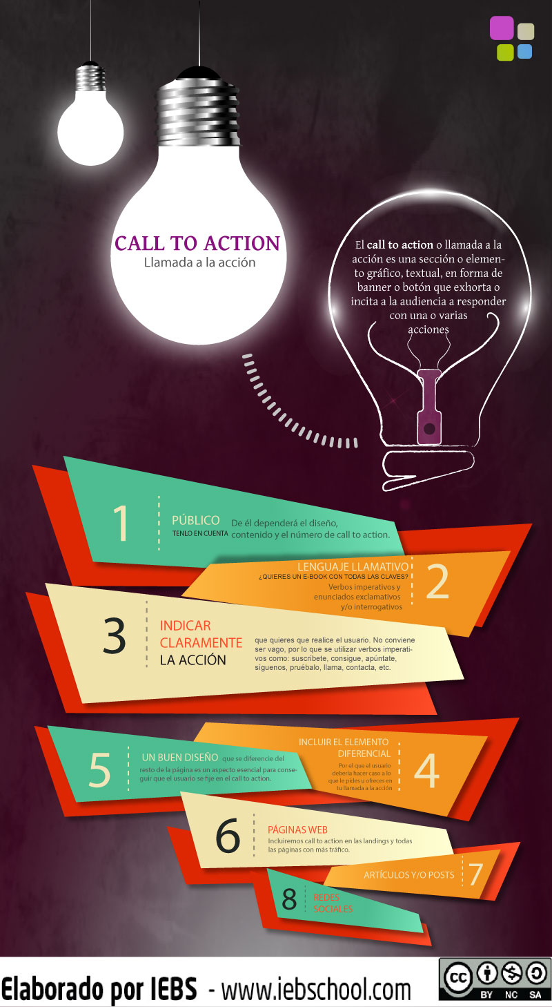 como hacer call to action