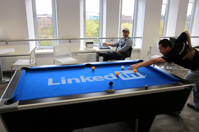 linkedin work n play environment