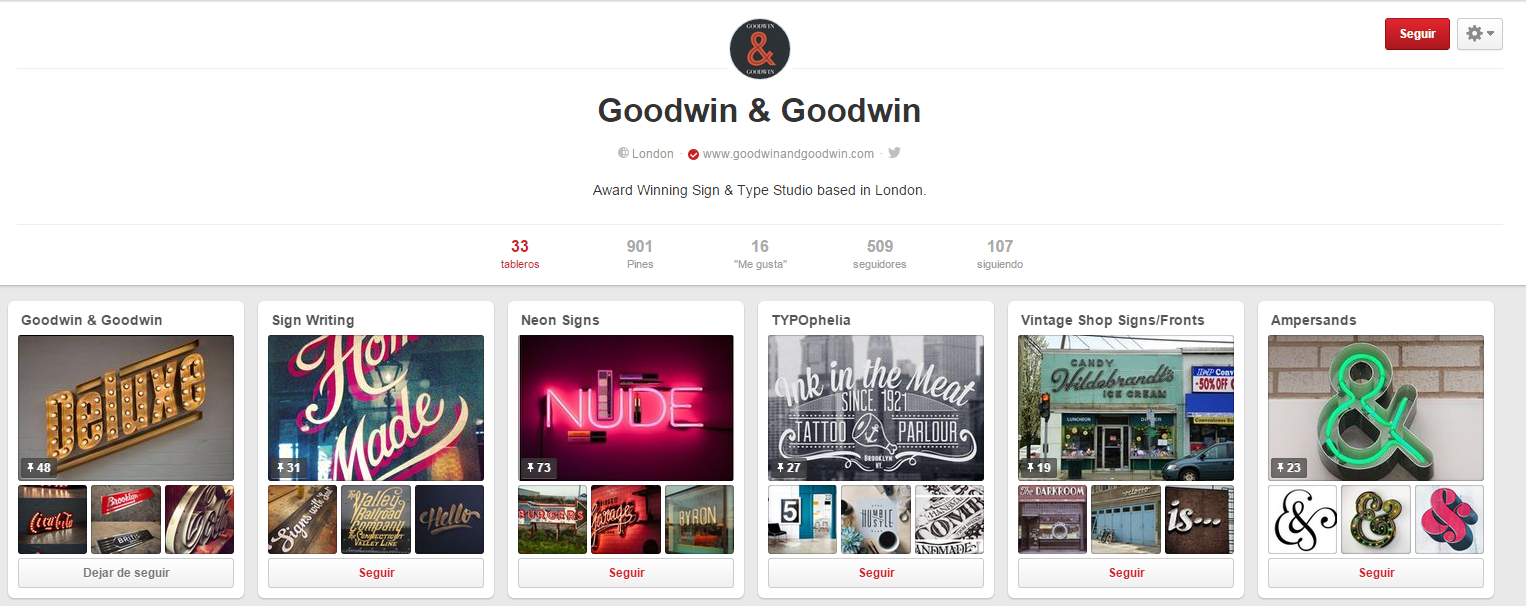 Ideas para sacarle partido a tu e-Commerce en Pinterest - Goodwin