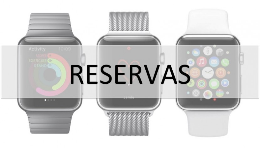 Reservas Apple Watch