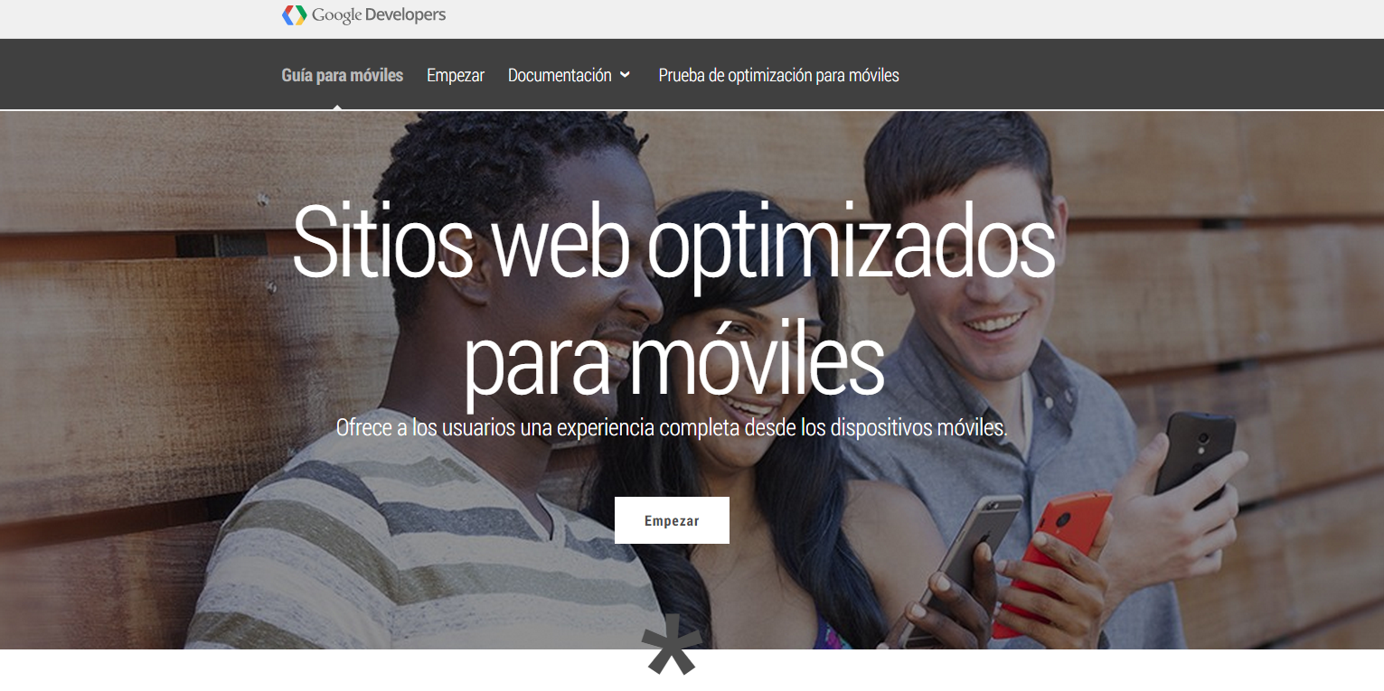 optimizar web móvil