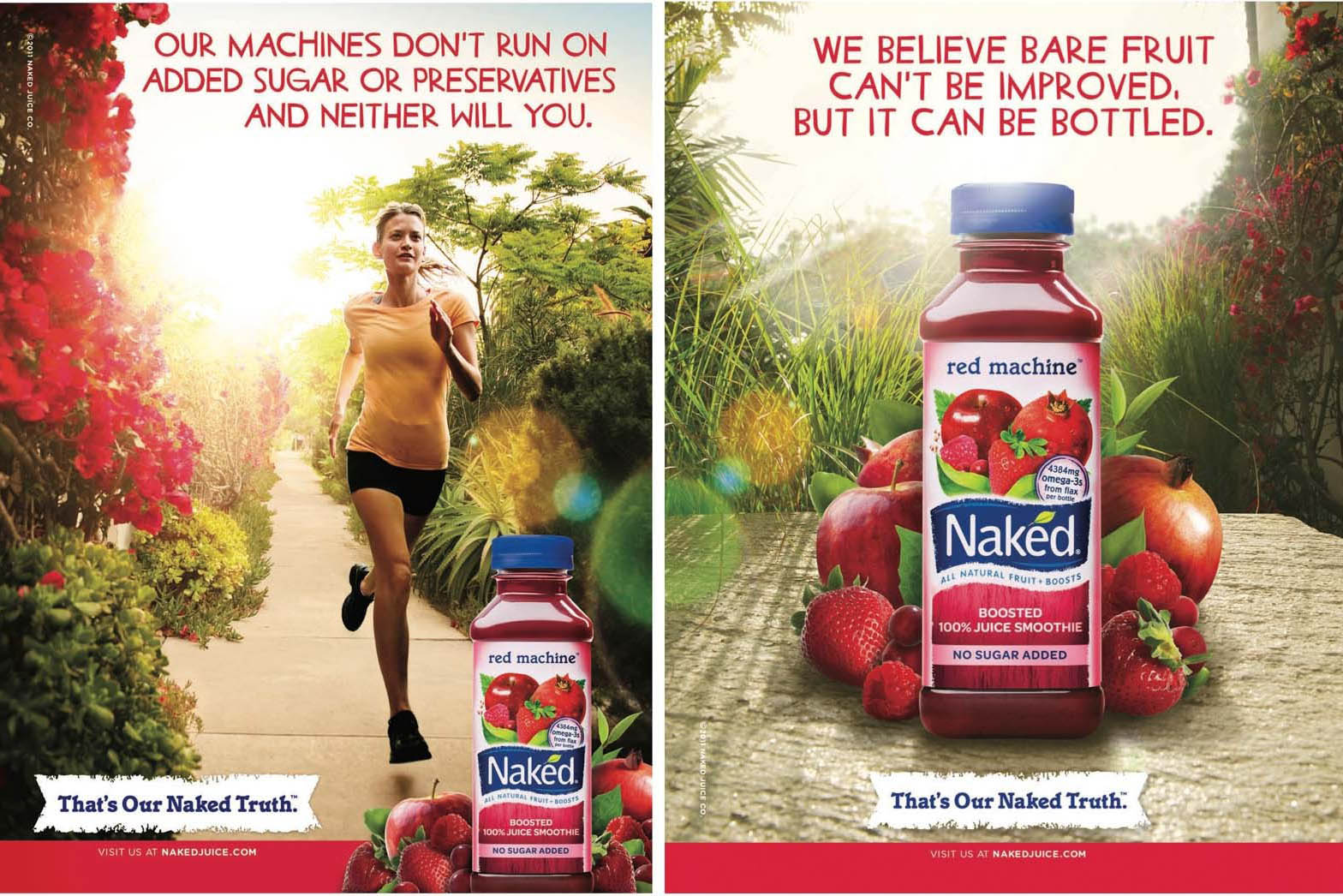 Naked juice- visual storytelling