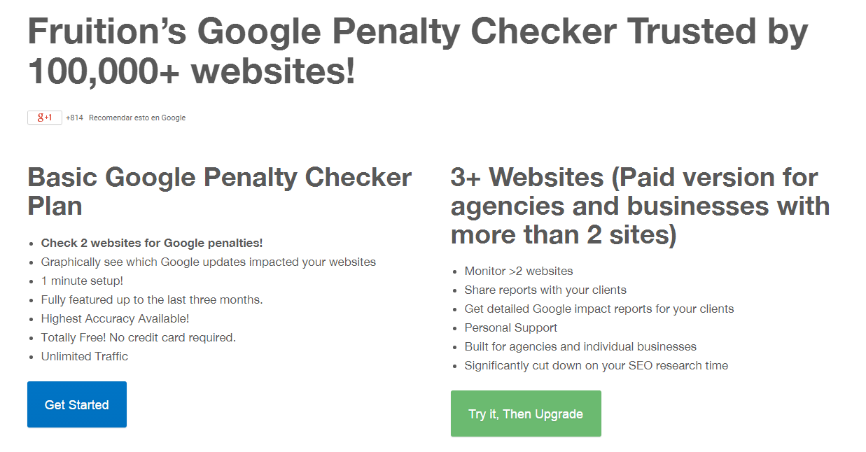 Fremium Google Penalty