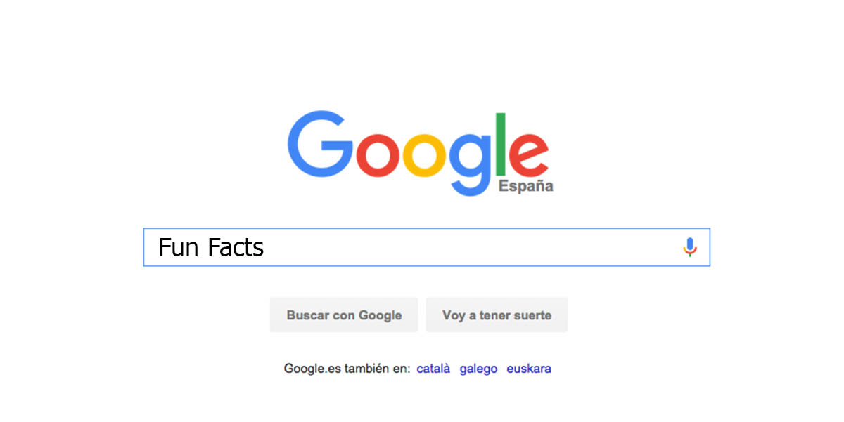 Google fun facts