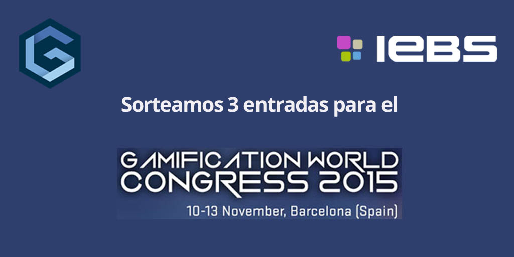 Bases Sorteo de 3 entradas para el Gamification World Congress 2015