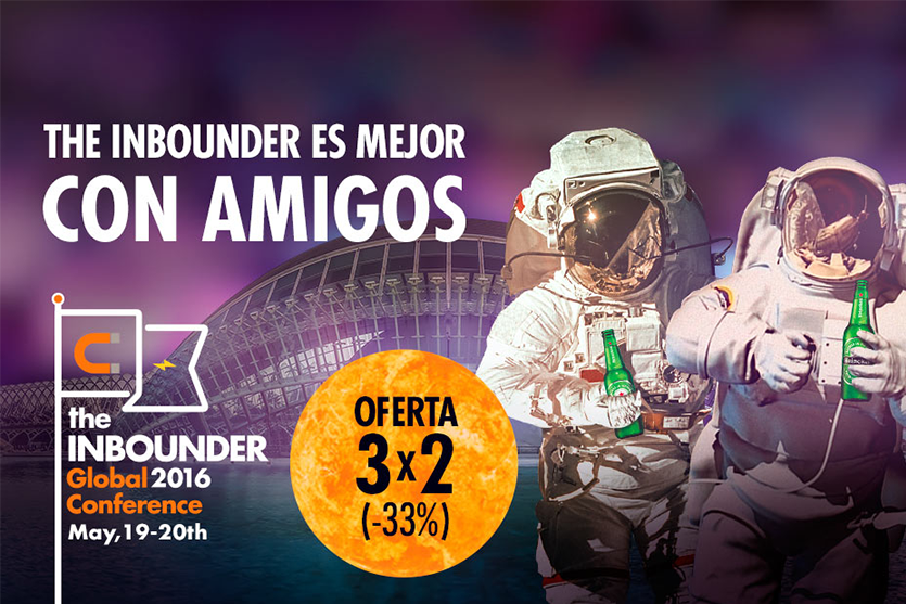 8 razones por las que asistir a The Inbounder; el mayor evento de Inbound Marketing de Europa