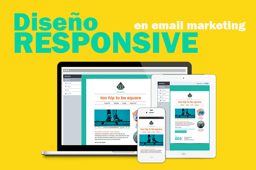 diseño responsibe en email marketing