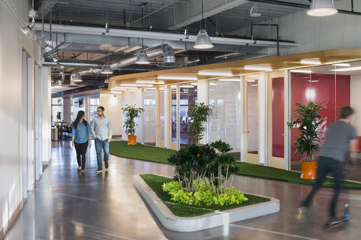GoDaddy, Location: Sunnyvale, CA, Architect: DES Architects