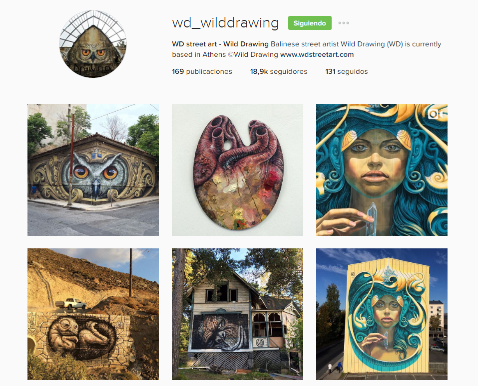 WD Wilddrawing Instagram jobs