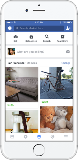 marketplace facebook compraventa