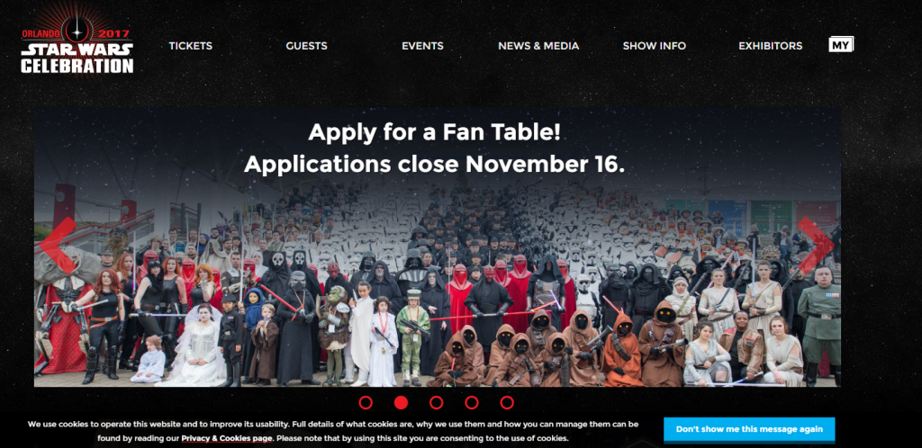 Star Wars Celebration Marketing Digital Redes Sociales