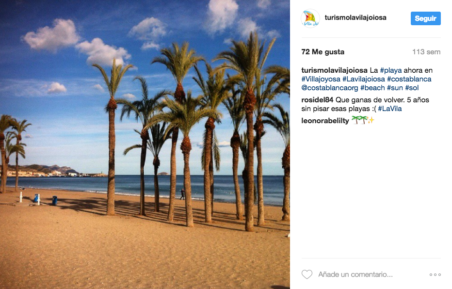 Instagram Marketing Turismo