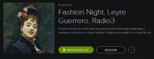 La playlist Fashion Night del Museo del Prado